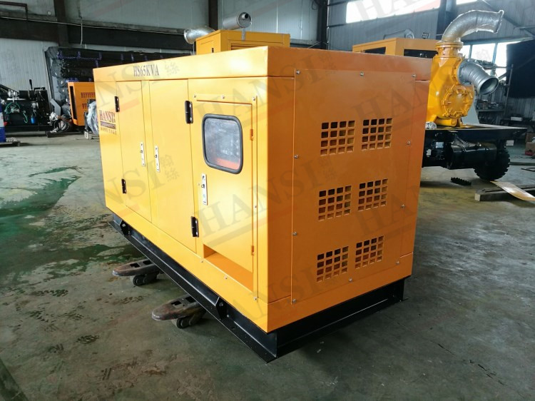 50kw单相静音柴油发电机