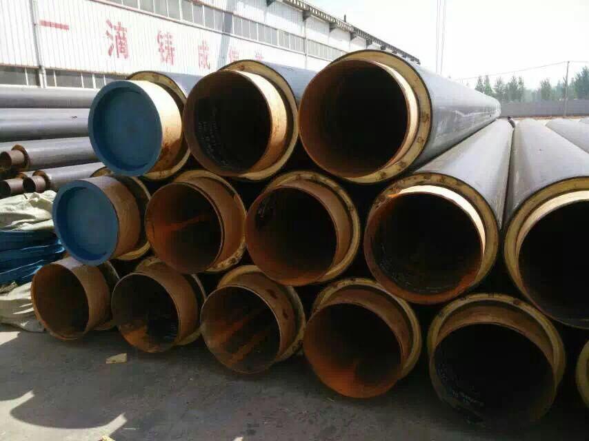 晋城市硬质聚氨酯发泡直埋供热保温管厂家报价