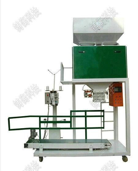粮食定量包装机基本工作原理及结构