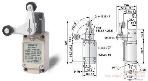 行程开关, 限位开关,微动开关,计数器,计时器,温控器,固态继电器,热电