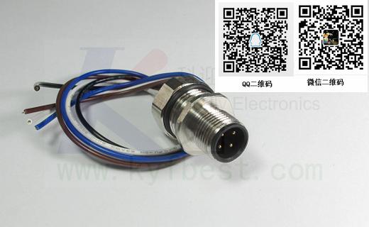 用于严苛应用的M12法兰插座  大部分应用需要特殊解决方案。但只有高质量材料、安全的生产流程和无瑕疵的装配才能带来长期的成功。