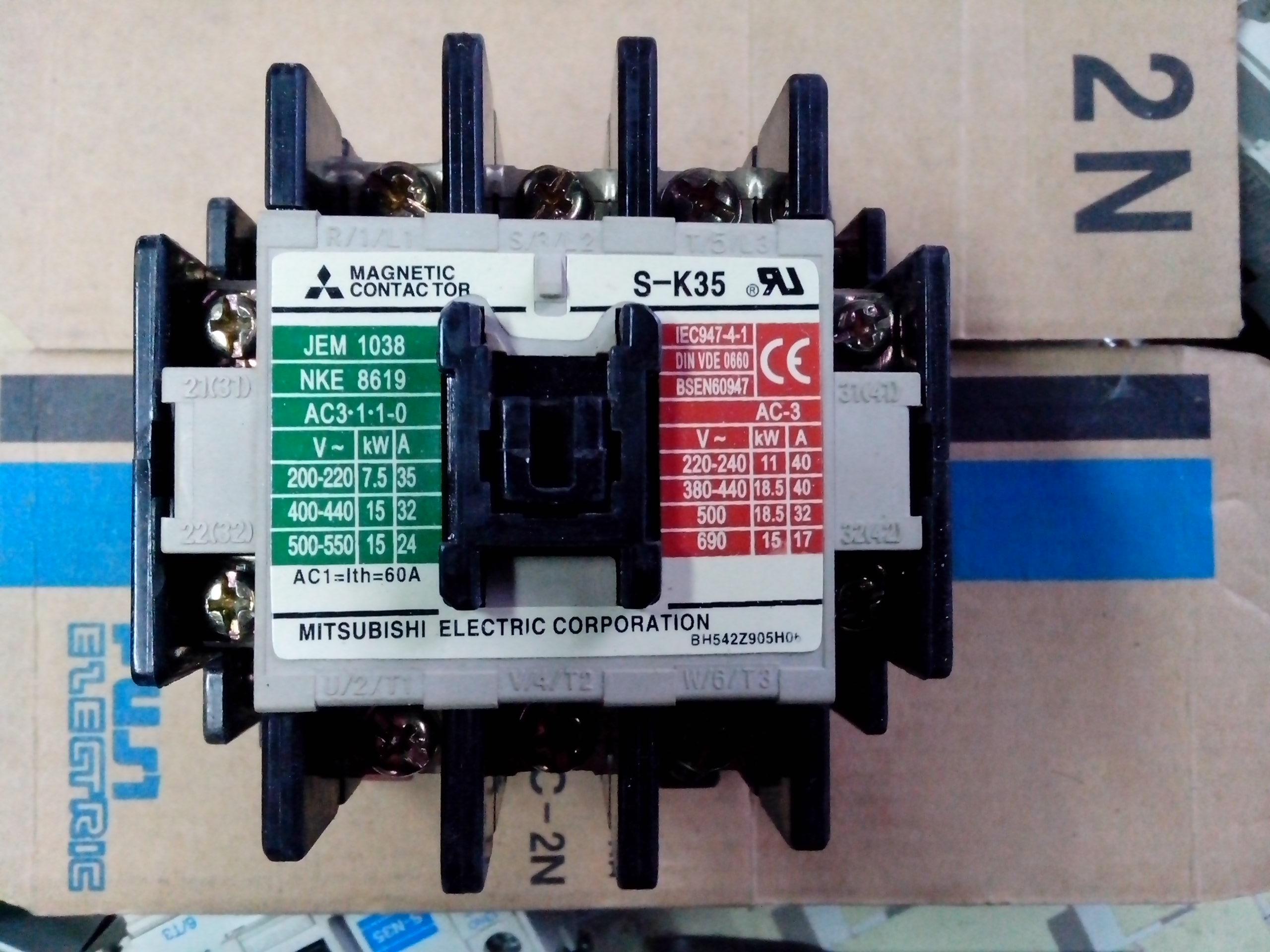 产品库 电气设备/工业电器 低压电器 接触器 s-k65三菱交流接触器