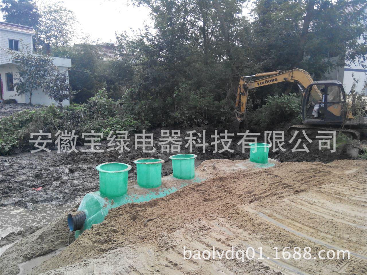 设计而定-供应养猪场化粪池污水处理设备