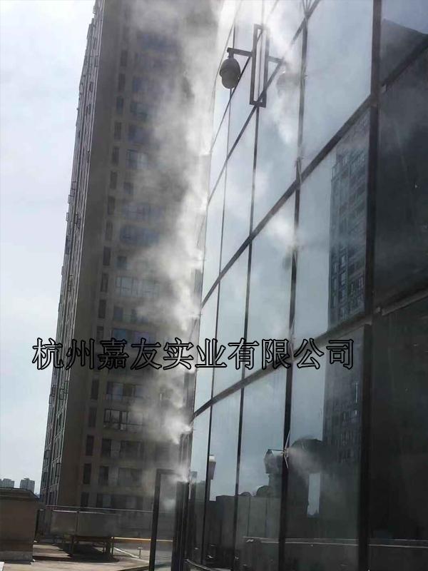 大型商场室外喷雾降温设备